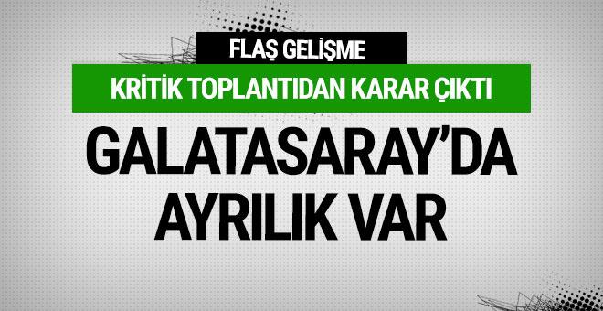 Karar çıktı! Galatasaray'da ayrılık var!