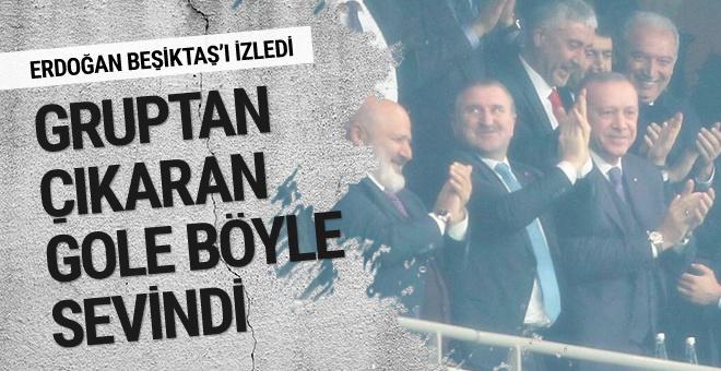 Cumhurbaşkanı Erdoğan Vodafone Park'ta!