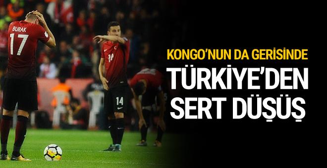 FIFA sıralaması açıklandı Türkiye Kongo'nun da gerisinde…