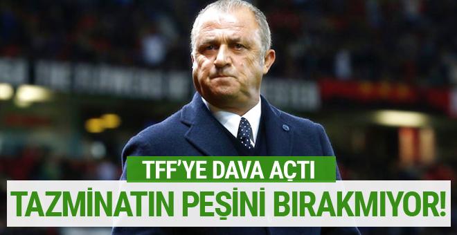 Fatih Terim'den TFF'ye tazminat davası!
