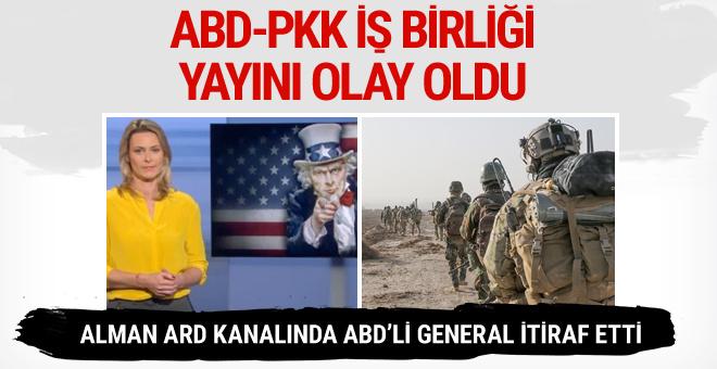 Alman kanalında bomba ABD-PKK işbirliği yayını