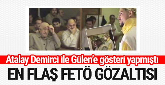 Atalay Demirci'yle Gülen'e gösteri yapmıştı! Ömer Pekin gözaltında