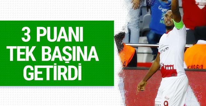 Eto'o attı Antalyaspor 3 puanı kaptı! İşte maçın özeti
