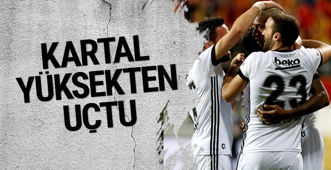 Göztepe-Beşiktaş maçı golleri ve geniş özeti
