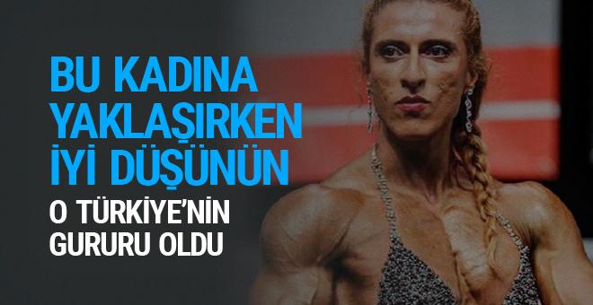 Bu kadına yaklaşırken bir daha düşünün Türkiye'yi gururlandırdı