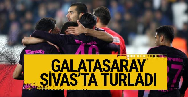 Sivas Belediyespor Galatasaray maçı golleri ve geniş özeti