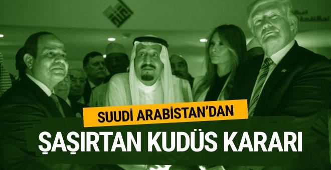 Suudi Arabistan'dan ABD'ye şaşırtan Kudüs çağrısı!