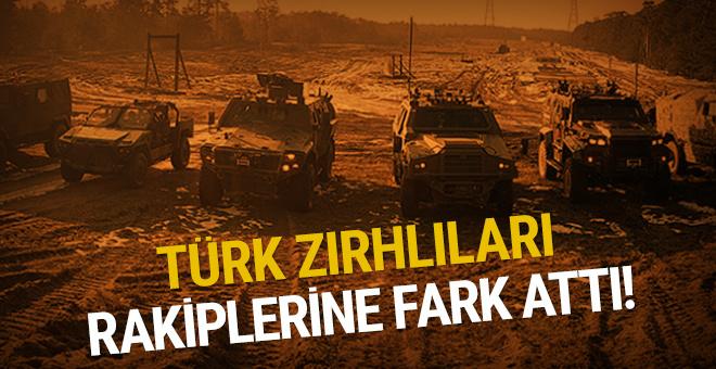 Türk zırhlıları rakiplerine fark attı!