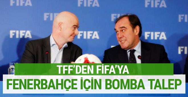 TFF'den Infantino'ya bomba Fenerbahçe talebi