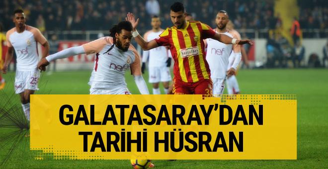 Yeni Malatyaspor - Galatasaray maçı golleri ve geniş özeti
