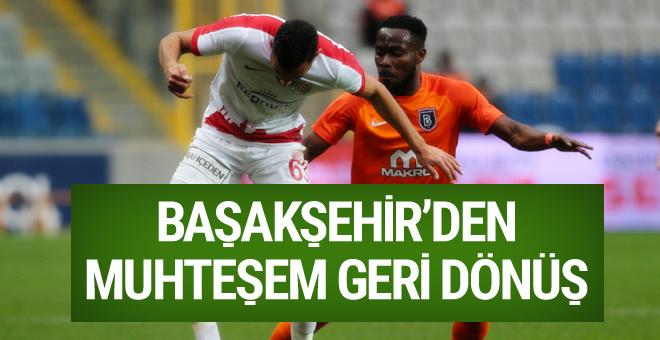Başakşehir Antalyaspor maçı golleri ve özeti
