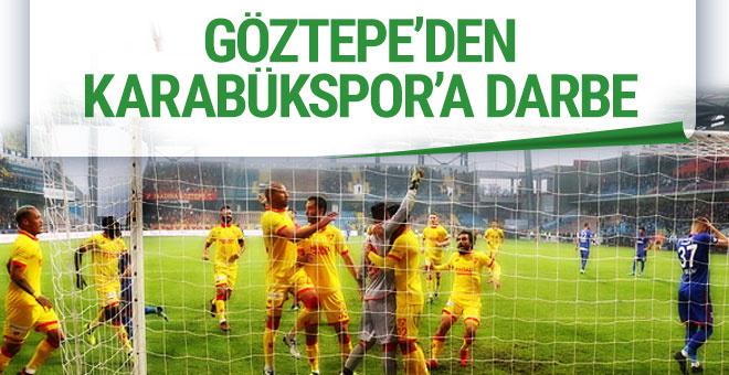 Kardemir Karabükspor Göztepe maçı sonucu ve özeti