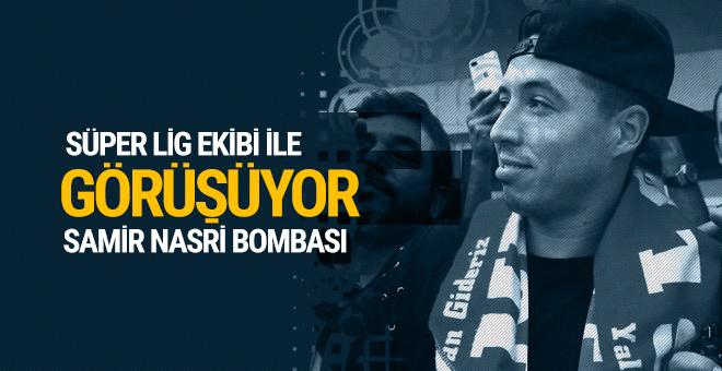 Samir Nasri bombası! Süper Lig ekibi ile görüşüyor