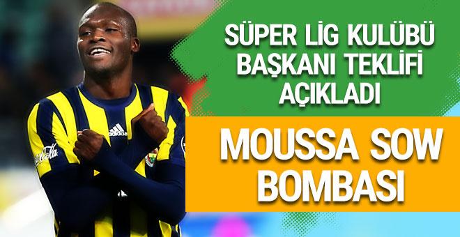 Başkan Moussa Sow teklifini açıkladı