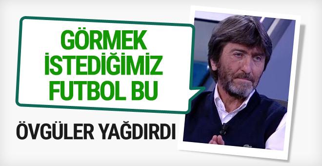 Rıdvan Dilmen'den Fenerbahçe'ye övgü
