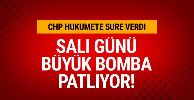 CHP'den flaş açıklama: Salı günü yeni bir bomba patlıyor