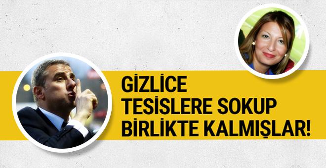 Gizlice Galatasaray tesislerine girip Hamza Hamzaoğlu'yla kalmış!