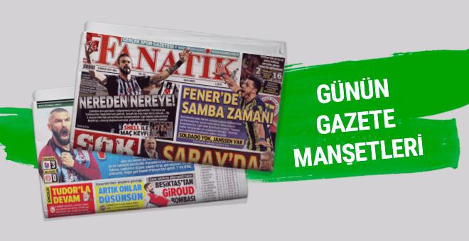 Günün spor gazete manşetleri! 5 Aralık 2017
