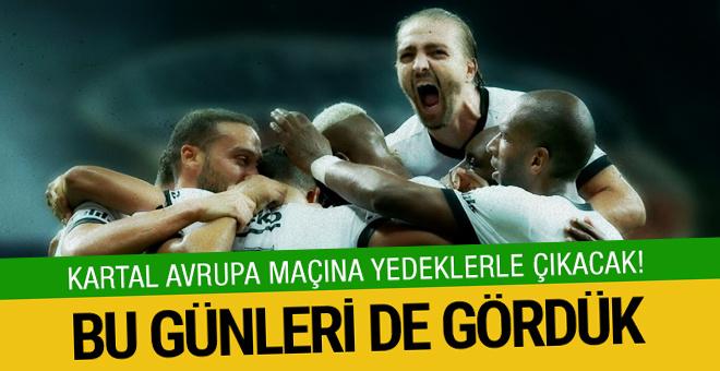 Beşiktaş Almanya'da yedeklerle oynayacak