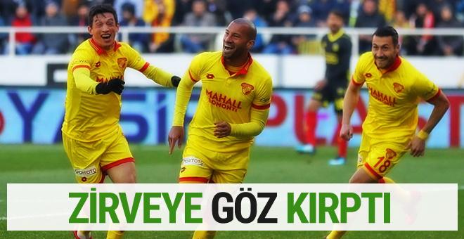 Göztepe Yeni Malatyaspor'u devirdi zirveye göz kırptı