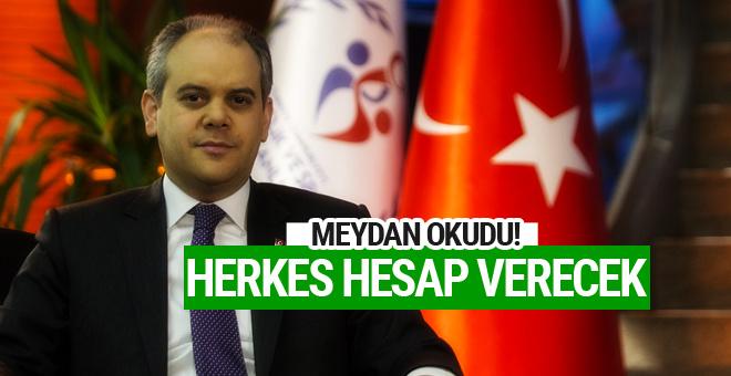 Spor Bakanı Çağatay Kılıç meydan okudu!