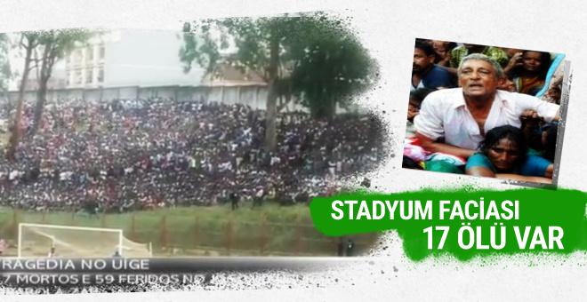 Angola'da stadyum faciası! 17 ölü