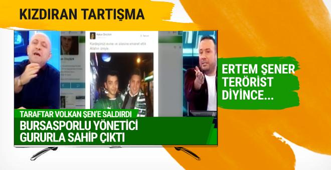 Bursasporlu yönetici Volkan Şen'e saldıran taraftar hakkında konuştu