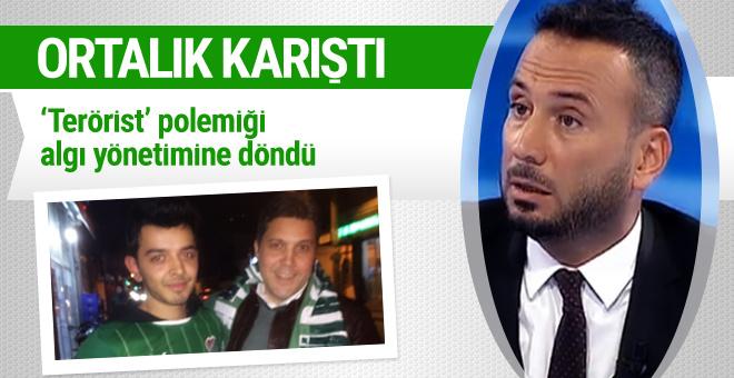 Ertem Şener terörist dedi Twitter algı yönetimine başladı