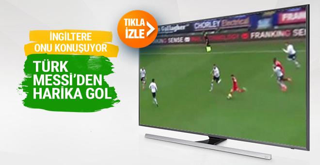Türk Messi Erhun Öztümer'den harika gol