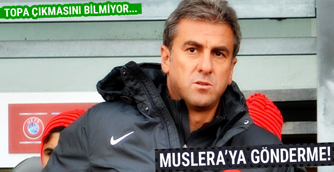 Hamza Hamzaoğlu'ndan Muslera'ya gönderme!