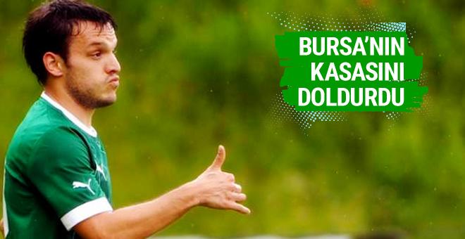 Batalla Bursaspor'un kasasını doldurdu!