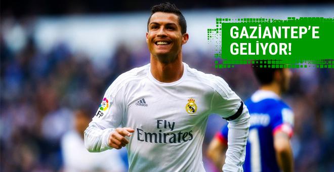 Cristiano Ronaldo Gaziantep'e geliyor!