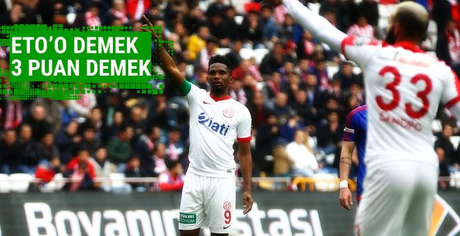 Antalyaspor'un yenilmezlik serisi devam ediyor