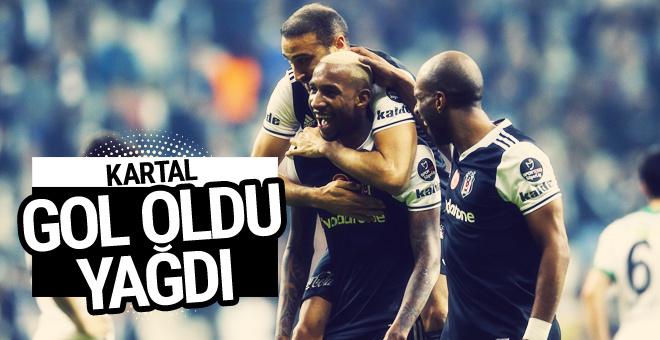 Beşiktaş-Akhisar Belediyespor maçı geniş özeti