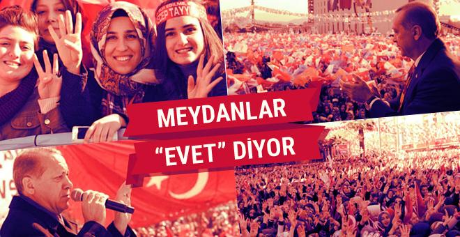 Cumhurbaşkanı Erdoğan milletle buluştu