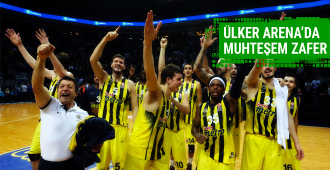 Fenerbahçe'den muhteşem zafer!