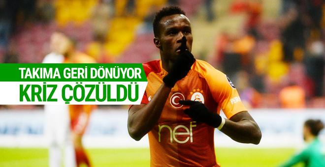 Galatasaray'da Bruma krizi çözüldü