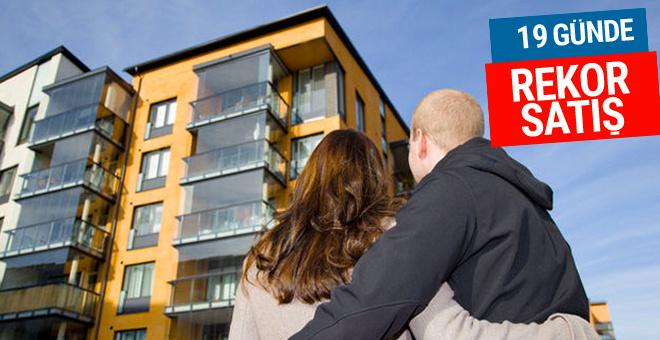 20 yıl vadeli konut satışı kampanyasında kaç ev satıldı?