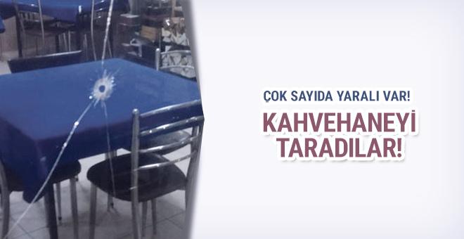 İstanbul'da dehşet! Kahvehaneyi taradılar