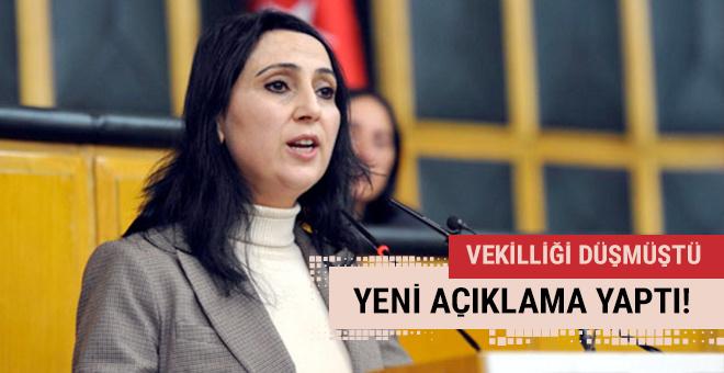 Vekilliği düşen Yüksekdağ'dan yeni açıklama!