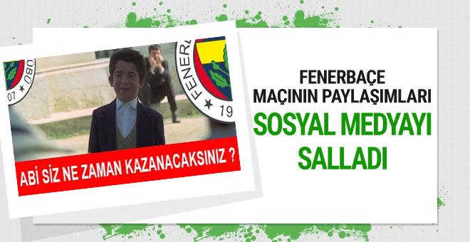 Fenerbahçe-Krasnodar maçı capsleri sosyal medyada olay oldu