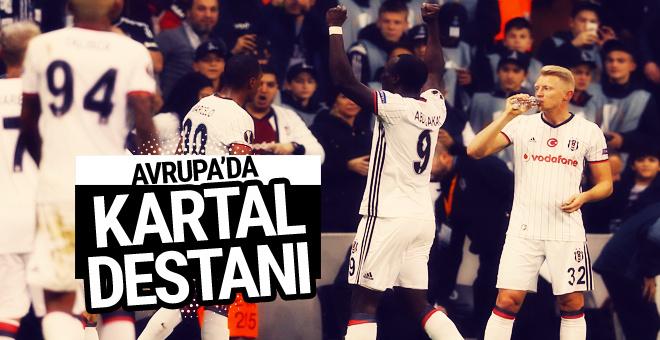 Beşiktaş Hapoel Beer Sheva maçı geniş özeti