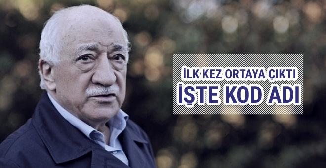 İşte Fetullah Gülen'in kod adı anlaşılmasın diye...