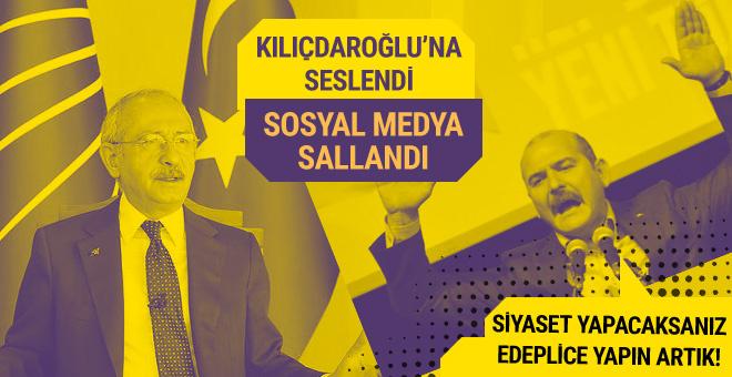 Bakan Soylu'dan Kılıçdaroğlu'na çağrı