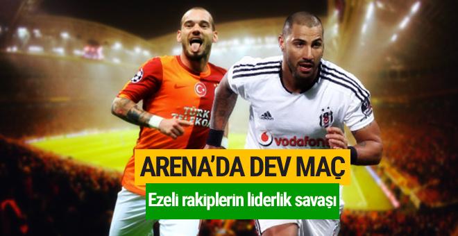 Galatasaray - Beşiktaş derbi maçı ne zaman saat kaçta?