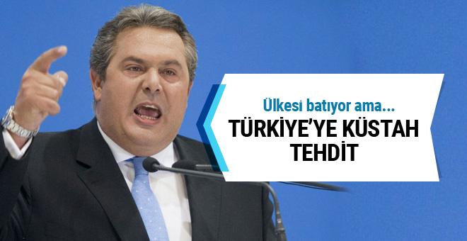 Yunan Bakan'dan küstah sözler!