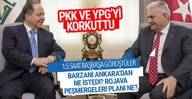 PKK ve YPG'yi korkuttu! Mesud Barzani ne istedi?