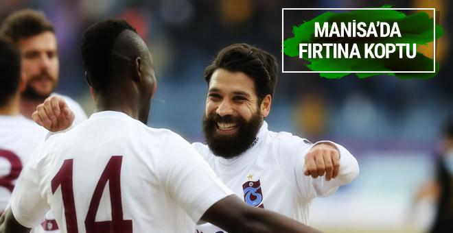 Akhisar Trabzonspor maçının golleri ve geniş özeti