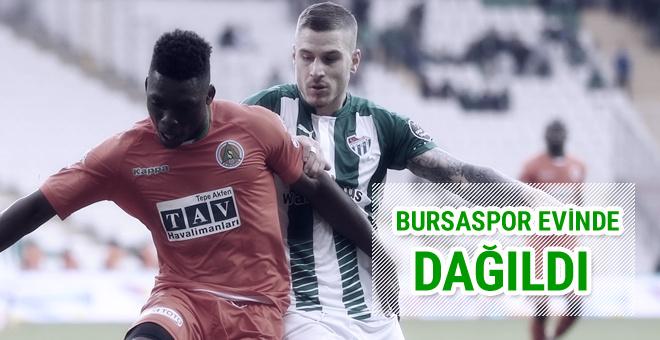 Alanyaspor Bursaspor'u evinde dağıttı!