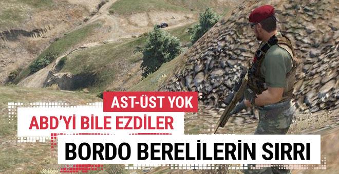 Bordo bereliler nasıl yetişiyor özel kuvvetlerin sırrı!